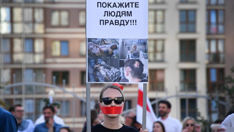 Belarus Presidential Election Protest