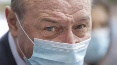 Europarlamentarul Traian Basescu si-a depus candidatura pentru primaria Capitalei