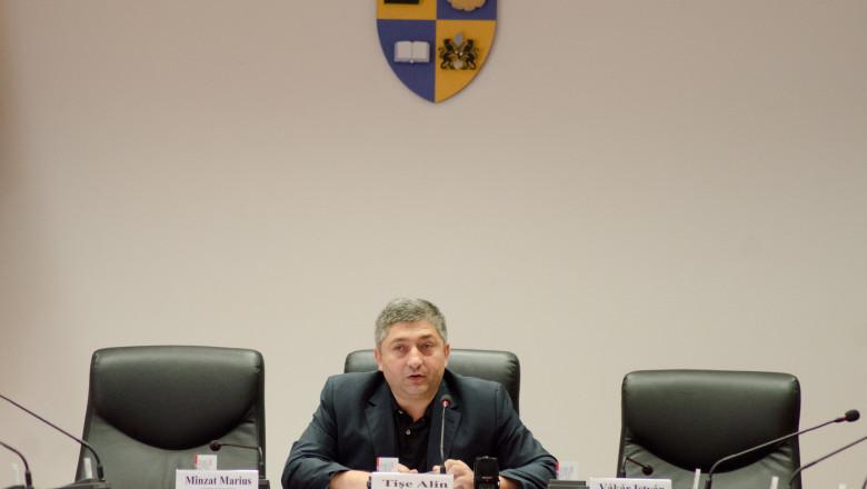 președintele Consiliului Județean Cluj, Alin Tișe