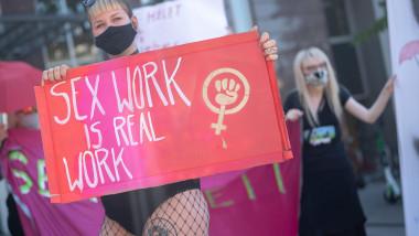 Proteste al lucrătoarelor sexuale, la Stuttgart. Aceste cer redeschiderea bordelurilor