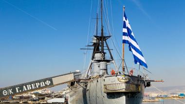grecia nava flota mediterana