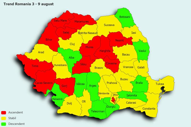 Trend Romania 3 - 9 august