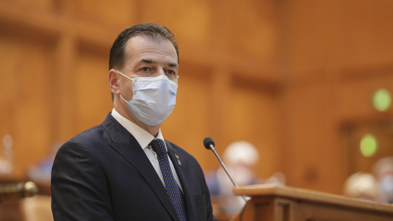ludovic orban plen parlament