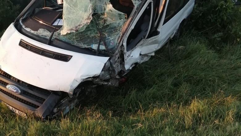 Accident cu 9 raniti in Dolj