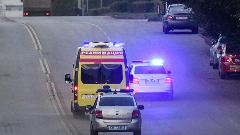 Poliția germană escortează ambulanța în care se află Aleksei Navalnîi