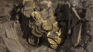 monede din aur Israel