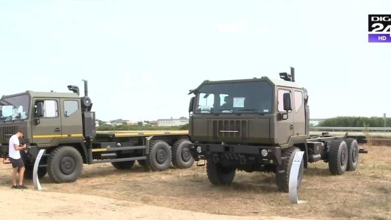 Camioane militare noi vor intra in dotarea armatei romane