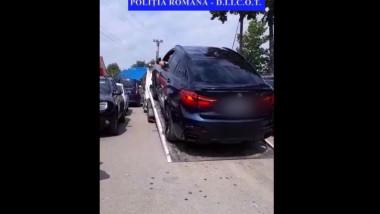 Mașină confiscată de la o grupare de proxeneți din Iași