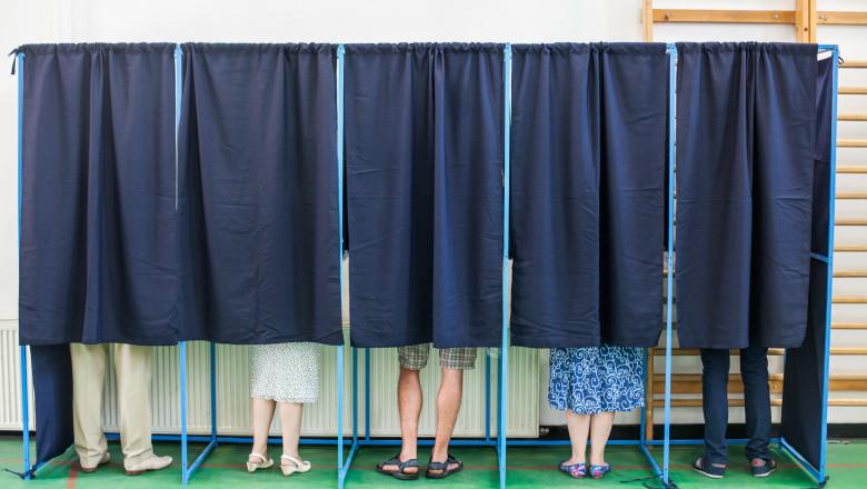 alegeri locale, urna vot, caina vot