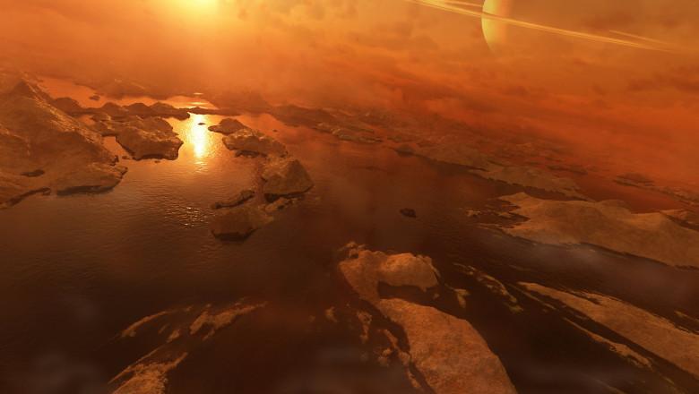 titan satelitul lui saturn