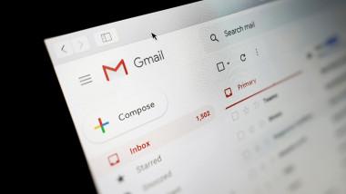 interfața Gmail