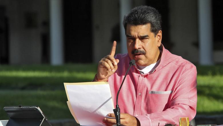 preşedintele Venezuelei, Nicolas Maduro
