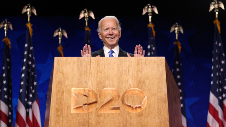 Joe Biden discurs de acceptare DNC