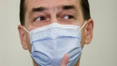 Ludovic Orban a declarat că oamenii trebuie să se obișnuiască să se apare de virus, chiar și purtând masca