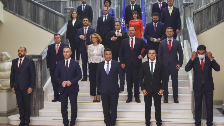Noul guvern din Macedonia de Nord