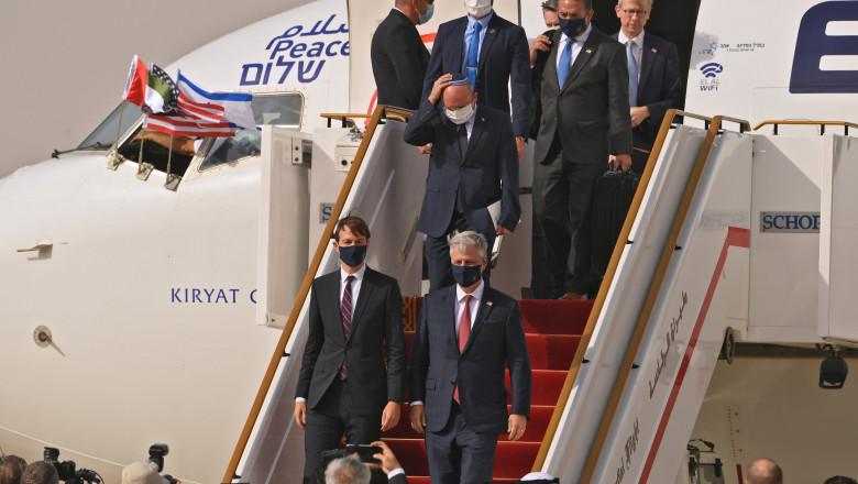 avion israel emirate zbor istoric