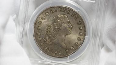 dolar de argint licitatie