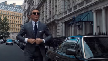 "Daniel Craig în ultimul rol James Bond, filmul ""No Time to Die"""