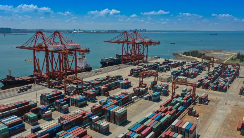 china exporturi port economie