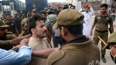 barbat arestat de politie in pakistan