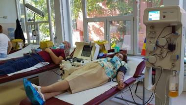 Adriana Furdiuc a donat plasmă de cinci ori