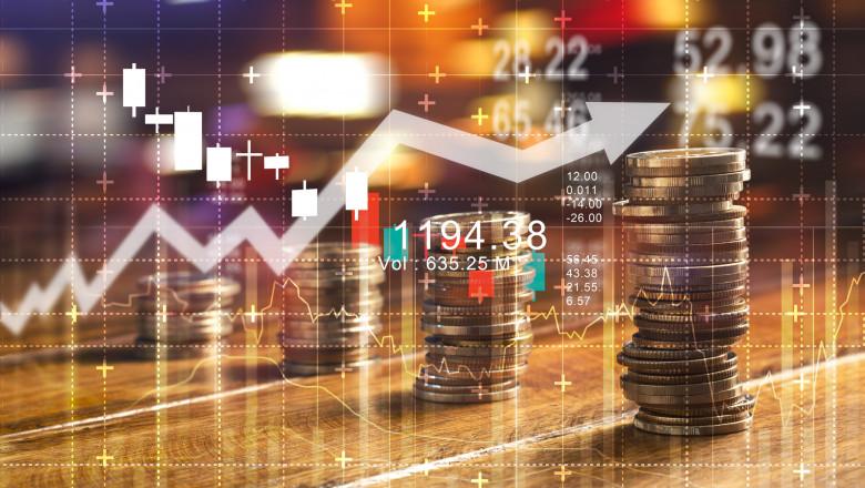 bani statistici grafice crestere finante