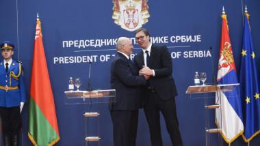 Vucici și Lukașenko