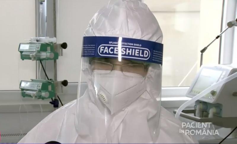 dr gabriela nacu spitalul judetean ploiesti sefa sectiei ATI - captura tv