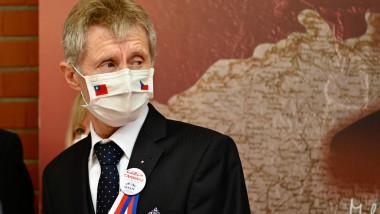 Milos Vystrcil vizita Taiwan