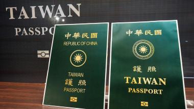 Taiwanul va schimba coperta paşaportului său