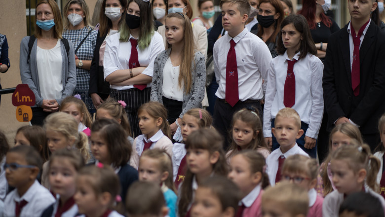 Număr record de cazuri noi de COVID-19 în Ungaria, odată cu începerea anului şcolar
