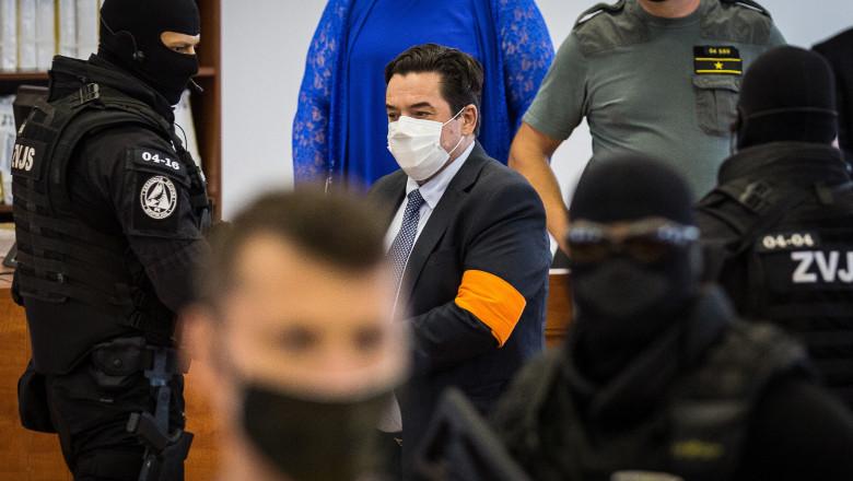 Trial concerning the murder of Slovak journalist Jan Kuciak, in Pezinok
