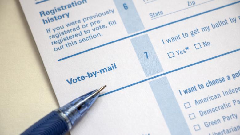 votul prin posta la alegerile din sua