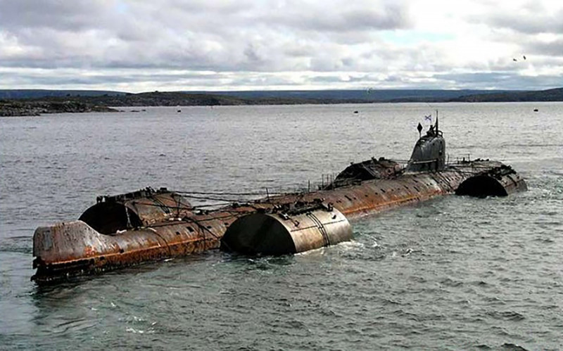 epava submarin rusesc