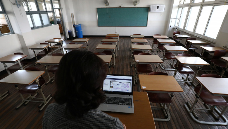 Schools Resume In South Korea Amid The Coronavirus Outbreak