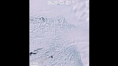 Thwaites este cel mai important ghețar de pe planetă