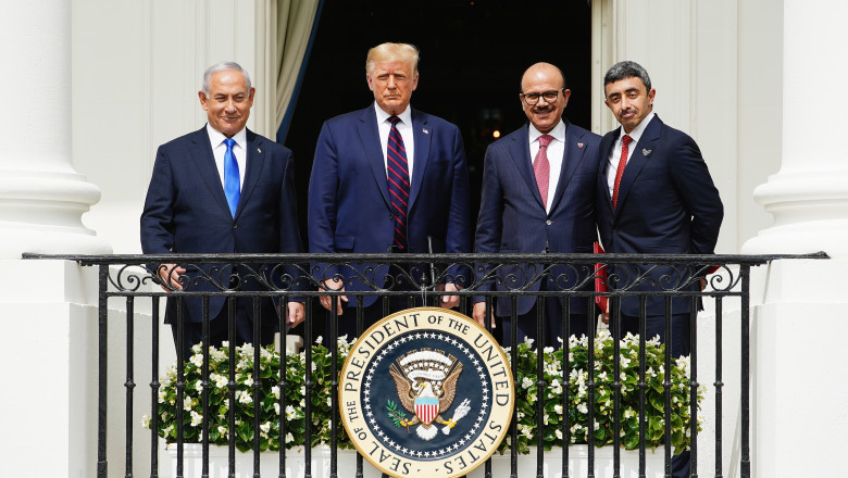 President Trump hosts Abraham Accords signing ceremony at White House