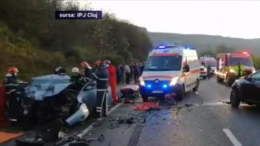 accident grav cluj