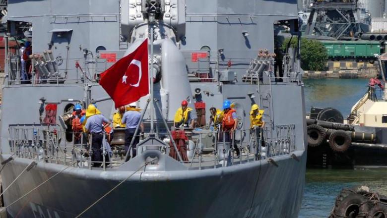 Turcia a prelungit din nou, duminică, misiunea unei nave de explorare a gazului într-o zonă pe care o dispută cu Grecia în estul Mării Mediterane