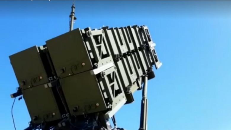 lansator de rachete Patriot din cadrul primul sistem Patriot intrat în dotarea armatei române
