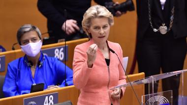 ursula von der leyen parlamentul european