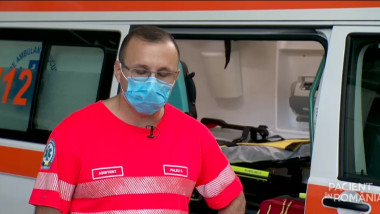 constantin paleu- asisten ambulanta bucuresti infectat cu covid - captura