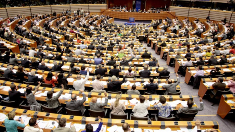 Parlamentul European. vedere de ansamblu a plenului