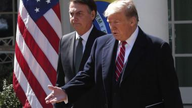 Jair Bolsonaro si Donald Trump getty