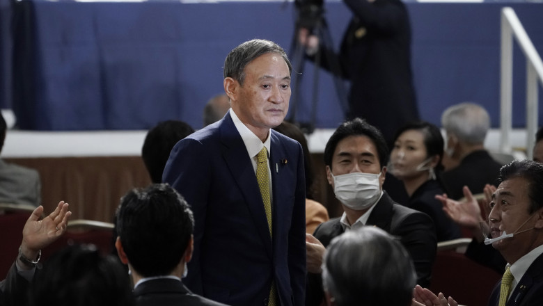 Yoshihide Suga Wins Japan's Ruling Party LDP Leadership Election
