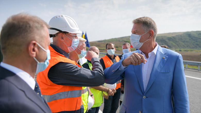 iohannis inaugurare autostrada mures