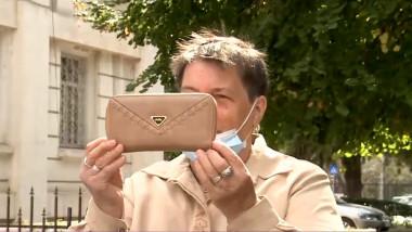 portofel pierdut de o pensionara din galati - captura tv