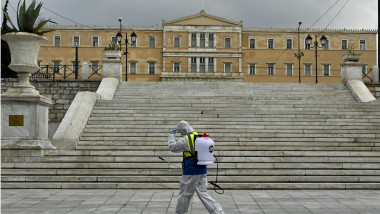 Greece Imposes Lockdown To Control Coronavirus Outbreak