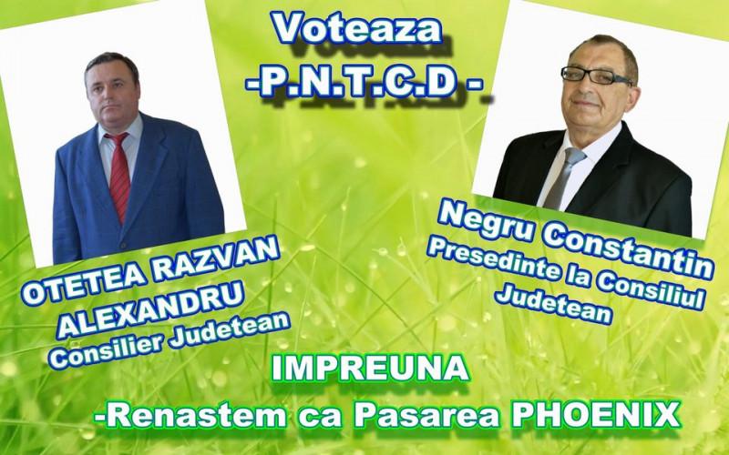 afis candidati PNTCD la alegerile locale 2020