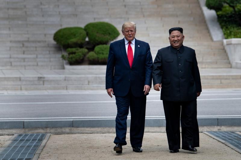Donald Trump și Kim Jong-un